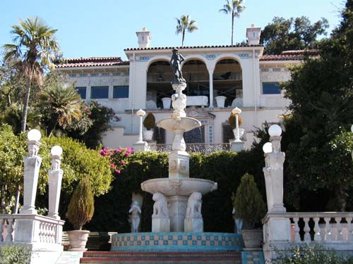 castillo Hearst en California